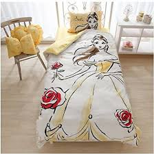 belle inspired water color duvet set for a beautiful princess room
