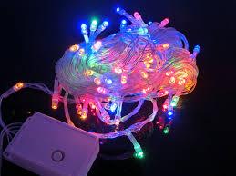 outdoor 100 led string lights 10m 220v
