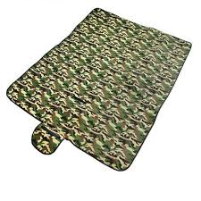 Outdoor Cing Rug Outdoor Foldable Large Camouflage Mat Tarp Cing Picnic Sleeping