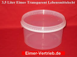 Kunststoffdosen Transparent Mit Deckel by Eimer Dosen Hobbock Eimer Mit Deckel Eimer Vertrieb De