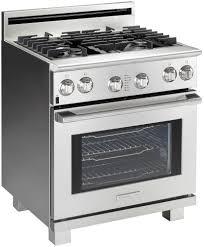 Black And White Appliance Reno Electrolux Icon 30 U0027 U0027 Full Gas Freestanding Range E30gf74hps