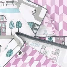 village organic cotton child bed linen set 100 x 140 cm 39 3 x