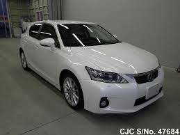 lexus ct200h used car for sale 2011 lexus ct200h pearl for sale stock no 47684 japanese used