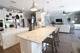 this grey reno kitchen and family room this grey house