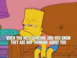 Bart Simpson Meme - that awful feeling the meta picture