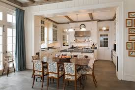 Cabinets With Crown Molding Kitchen Rich Wood Flooring Also White Stepped Crown Molding