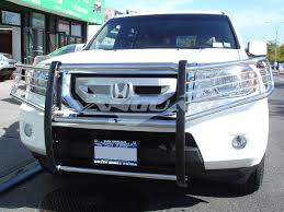 vanguard 09 15 honda pilot front brush grill guard bull bar bumper