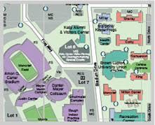 tcu parking map christian