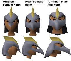 repoll the replacement for the hideous female armadyl helm that