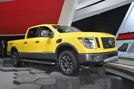 nissan truck 2016 2016 nissan titan xd is reinvented at naias