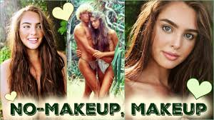 no makeup makeup tutorial brooke shields the blue lagoon beach