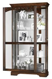 Kitchen Display Cabinets Curio Cabinet Howardler Curio Cabinet 680485 Howard Miller Oak
