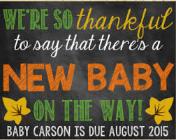 Announcing Pregnancy At Thanksgiving Thanksgiving Reveal Etsy