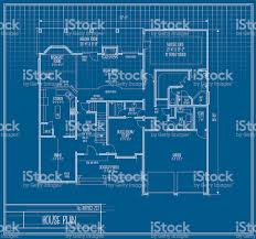 vector house floorplan blueprint stock vector art 165499264 istock