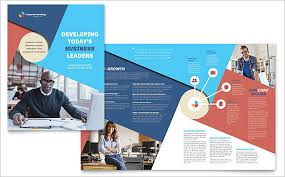38 half fold brochure templates free psd eps ai indesign