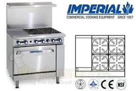 imperial convection oven pilot light imperial commercial restaurant range 36 12 griddle oven propane ir