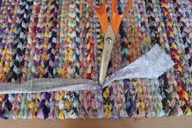 Crochet A Rag Rug Rag Rugs 2 Runquiltknitwrite