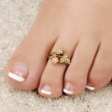toe rings images Victorian flower toe ring summer jewelry made in usa sweet jpg