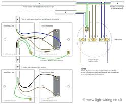 wiring diagram 3 way switch lights for feed at light