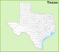 Map Of Texas Hill Country County Map