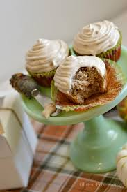 gluten free apple cider cupcakes for thanksgiving