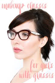 hair and makeup classes makeup tutorial for with glasses