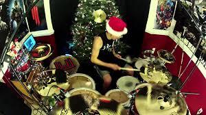 karmin sleigh ride drum cover arcc day 4 youtube
