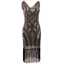 great gatsby inspired prom dresses 1920s great gatsby prom dress amazon com
