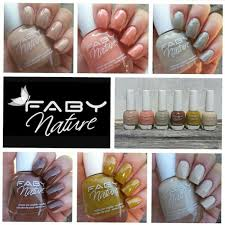 faby nature the only nail polish derived from natural origins