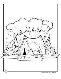 Rainy Day Coloring Pages To Download And Print For Free Coloring Rainy Day Coloring Pages