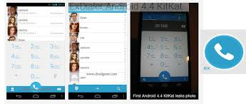 android 4 4 kitkat install android 4 4 kitkat ui dialer contact via exdialer apk