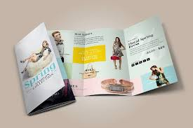 Tri Fold Program Fashion Tri Fold Brochure Brochure Templates Creative Market