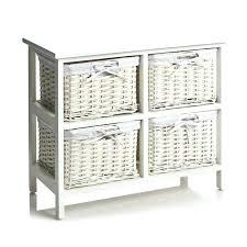 Baskets For Bathroom Storage Bathroom Storage Wicker Baskets 2 Tier Wicker Storage Unit