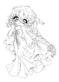 vintage cute anime coloring pages to print coloring page and