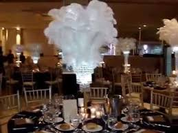 themed wedding centerpieces great gatsby themed wedding centerpieces at greentree country club