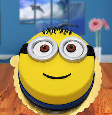 fondant cake send minions fondant cake online in india at indiagift in