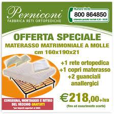 rete e materasso matrimoniale offerte offerte fabbrica reti ortopediche roma