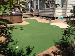 los angeles putting green turf progreen synthetic grass