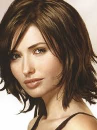 shoulder length hairstyke oval face pictures on medium hairstyles for thick hair oval face cute