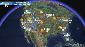 map of us weather forecast us map weather forecast usa weather forecast and radar android
