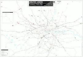 Metro Map Tokyo Pdf by Detailled London Transport Map Track Depot
