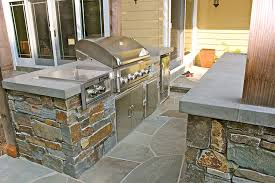 outdoor kitchens concrete interiors custom concrete