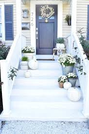White Front Door 25 Best Fall Front Door Decor Ideas And Designs For 2017