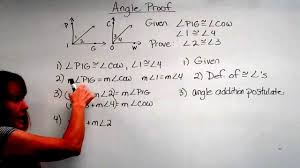 geometry angle proof youtube