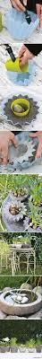 friday favorites outdoor decor diy concrete planters diy