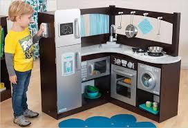 jouet cuisine cuisine d angle en bois jouet cuisine kidkraft espresso and silver