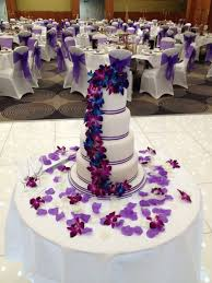wedding cake designs purple weddingsrusdeco