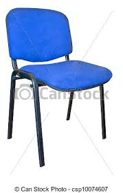 Basic Chair Stock Illustration Of A Basic Cloth Covered Office Chair Isolated
