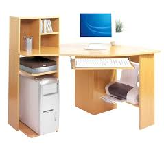 Corner Computer Desk Oak by Felix Home Office Corner Computer Desk In Beech Furniture Oak Wood