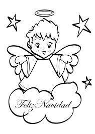 angel feliz navidad gif 595 842 christmas coloring pinterest